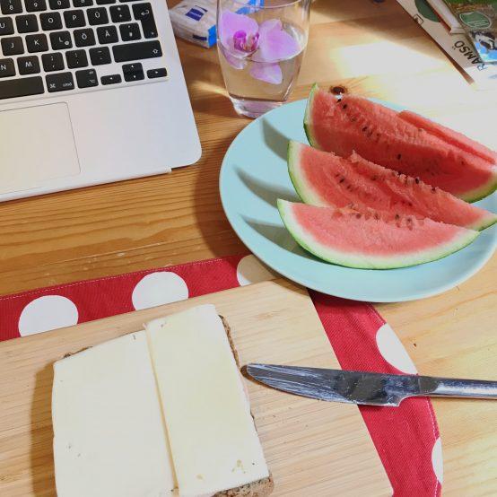 Nachhaltige Gedanken beim Frühstück